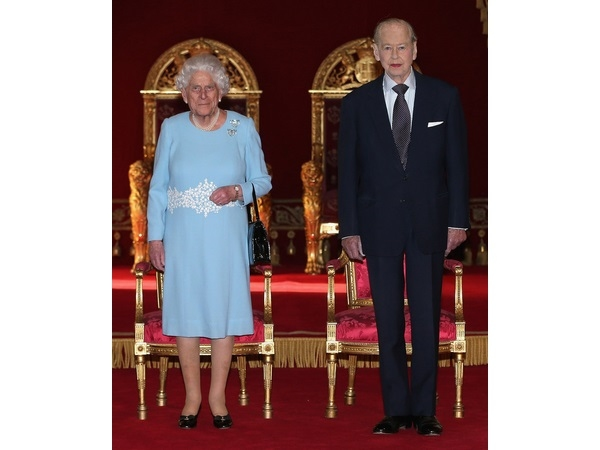 Her Majesty Queen Elizabeth II and Prince Philip