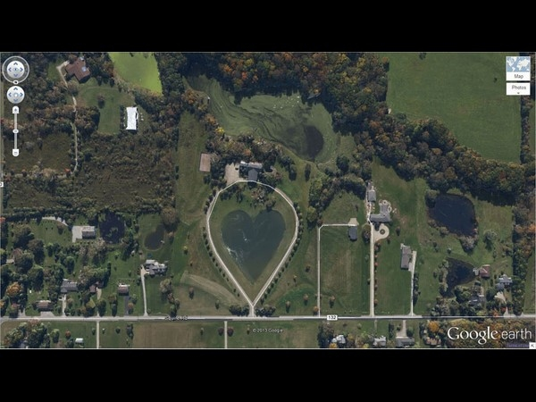 Heart-Shaped Lake