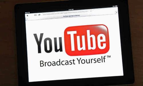 पाकिस्तानी संसद ने यूट्यूब पर लगा प्रतिबंध हटाया