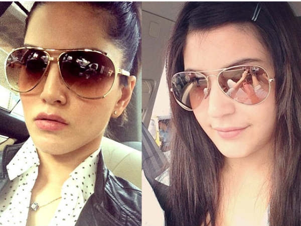 Sunny Leone and Anushka Sharma