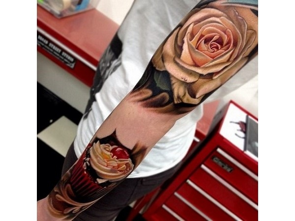 Amazingly Cool 3D Tattoos