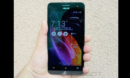 असुस जेनफोन: एक फोन 3 स्क्रीन साइज