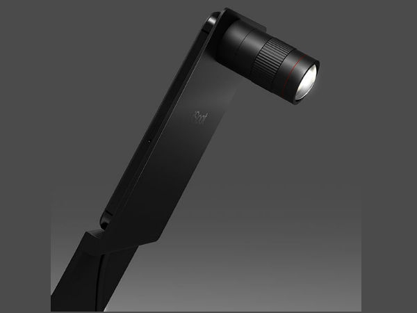 Sleek Camera Lens Lighting