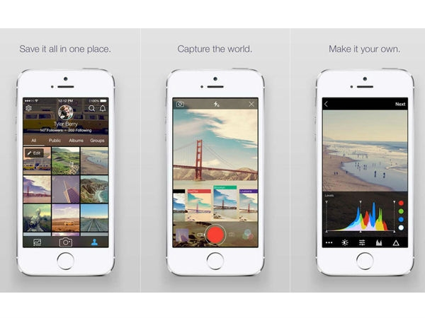 Flickr (iPhone, Android, Windows Phone)