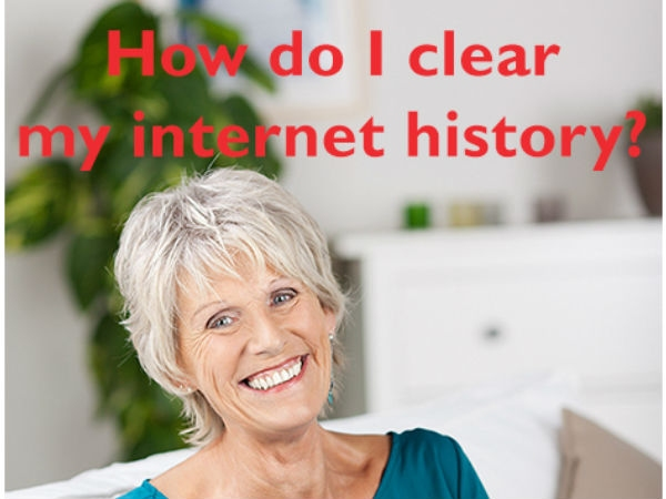 How do i clear my internet history ?