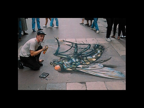 Mind blowing 3D street art
