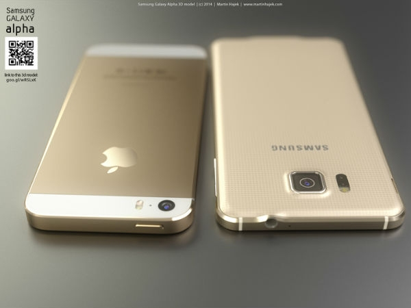 iPhone 6 vs Samsung Galaxy Alpha