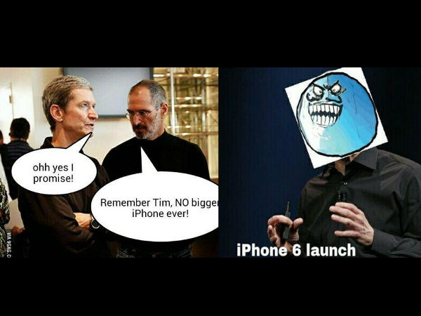 Memes on Apple's iPhone 6 launch