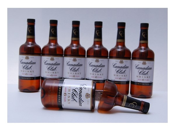 Canadian Club Bottle USB