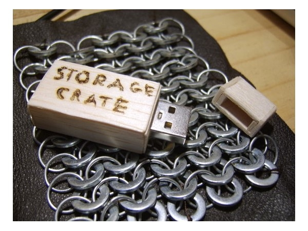 USB Storage Crate