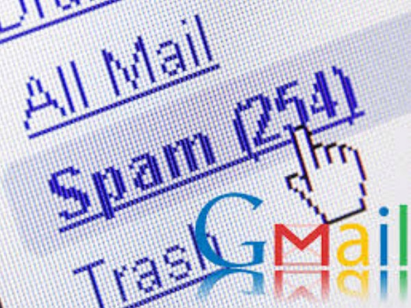 Handling spam in Gmail