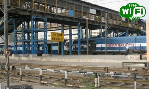 नई दिल्ली रेलवे स्टेशन पर वाई-फाई ब्रॉडबैंड सेवा लांच