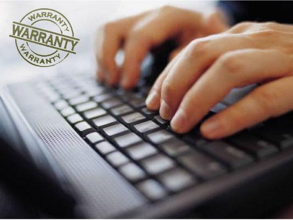 क्या आप भरोसा करते हैं ऑनलाइन वारंटी पर ?