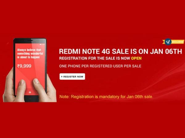 रेडमी नोट 4जी और रेडमी 1S की सेल आज