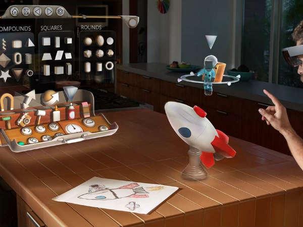 माइक्रोसॉफ्ट का नया प्रोजेक्ट होलोलेंस खोलेगा जादूई दुनिया के नए रास्ते