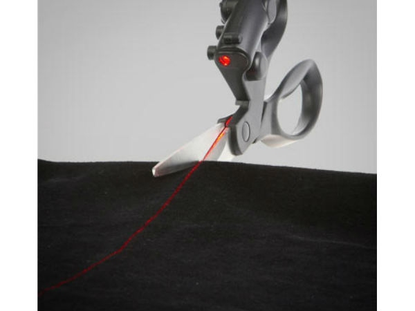 Laser-Guided Scissors