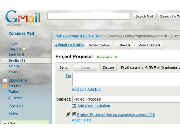 Host Files in Your Email Inbox for Easy Access