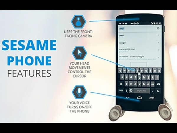 विकलागों के लिए दुनिया का पहला स्मार्टफोन
