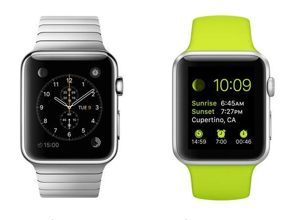 एपल स्मार्टवॉच प्री ऑडर के लिए उपलब्ध