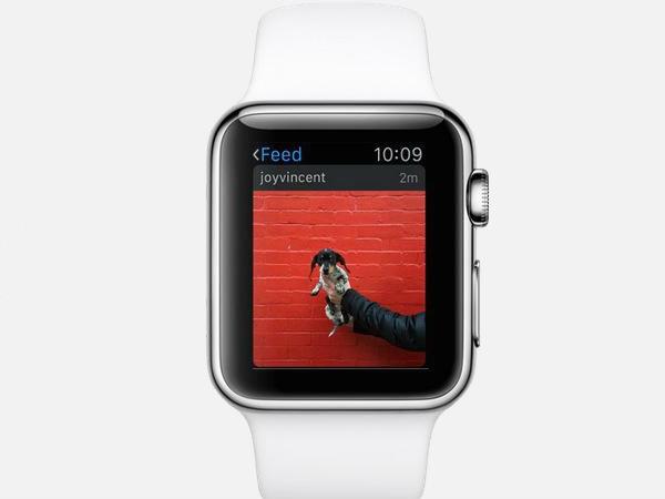 इंस्टाग्राम एपल वॉच पर भी उपलब्ध