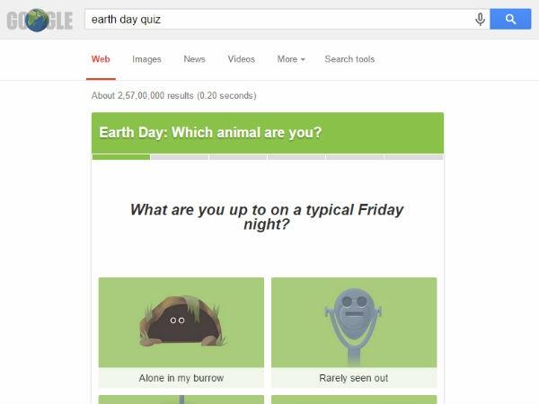 गूगल ने अपने डूडल में घुमाई पृथ्वी