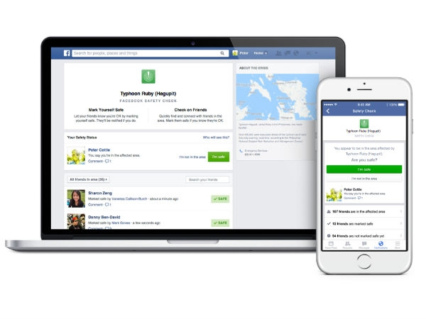 भूकंप प्रभावित इलाकों में गूगल और फेसबुक कर रहे हैं मदद