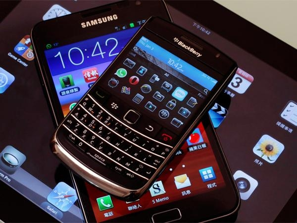 3. BlackBerry thumb