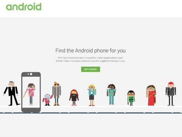 कौन सा एंड्रायड फोन खरीदें गूगल बताएगा आपको