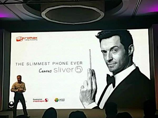 माइक्रोमैक्स ने उतारा सबसे पतला 4जी स्मार्टफोन, कीमत 17,999 रुपये