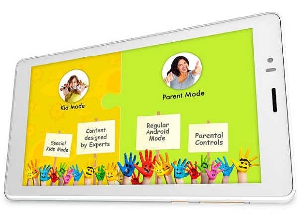 माइक्रोमैक्स लाया किड्स टैब 'कैनवस टैबी', कीमत 6,499 रुपये
