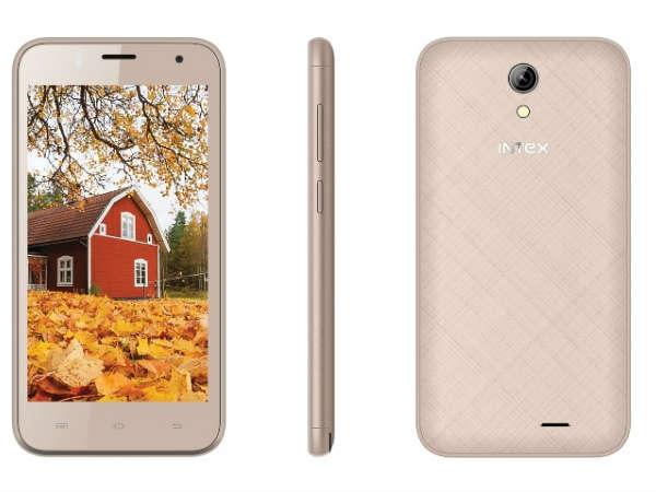इंटेक्स ने लांच किया नया स्मार्टफोन, कीमत 4,190 रुपए