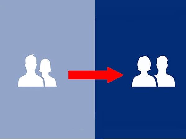 फेसबुक में लड़की की शेप बदली