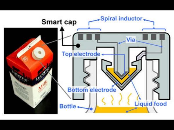'स्मार्ट कैप' बताएगा दूध ताजा है या नहीं