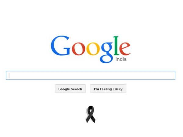 कलाम को श्रद्धांजलि दे रहा गूगल का होमपेज