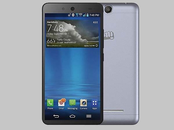 माइक्रोमैक्स कैनवास जूस 3, कम दाम में बजट स्मार्टफोन