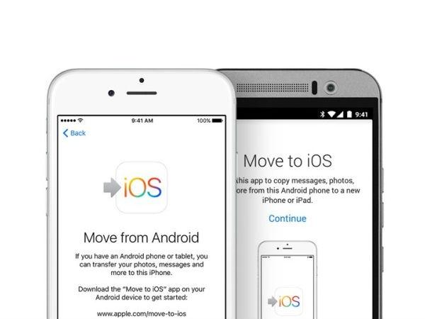 लॉन्च हुआ एंड्राइड यूज़र्स के लिए ऐपल का पहला एप 'Move to iOS'