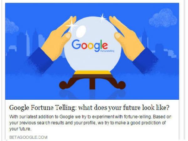 Try this! गूगल फॉरच्यून एप, जिसके पास है भविष्य का सटीक जवाब
