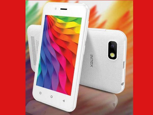 इंटेक्स का नया बजट स्मार्टफोन लॉन्च, कीमत 3,249 रुपए