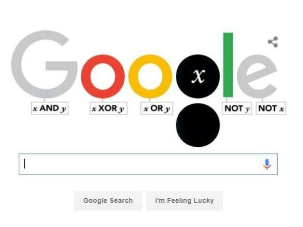 गूगल, डूडल पर मना रहा है जॉर्ज बूल का जन्मदिन, जानिए कौन हैं ये..!