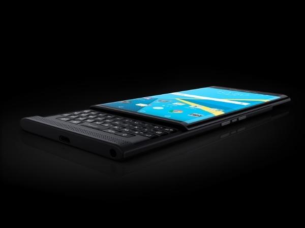 लॉन्च हुआ ब्लैकबेरी का पहला एंड्राइड स्मार्टफोन 'प्रिव'