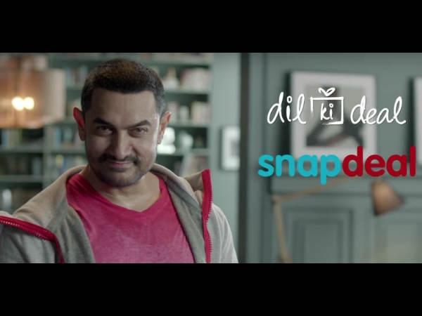 आमिर खान का गुस्सा स्नैपडील पर निकाल रहे नाराज लोग