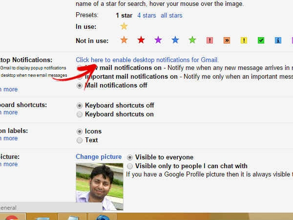 Notifications for Gmail