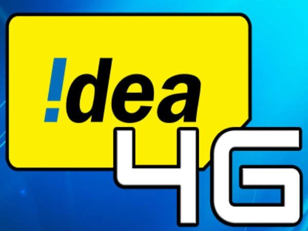 आईडिया ने लांच की 4जी सर्विस, सुपर फास्ट मिलेगी इंटरनेट स्पीड