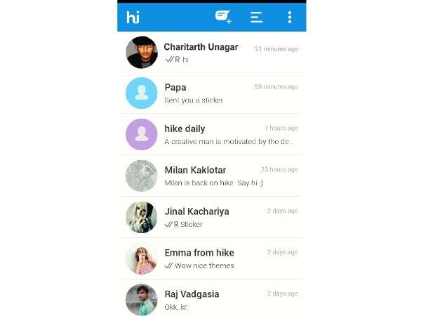 हाइक मैसेंजर एप अब 8 भारतीय भाषाओं को करेगी सपोर्ट..!