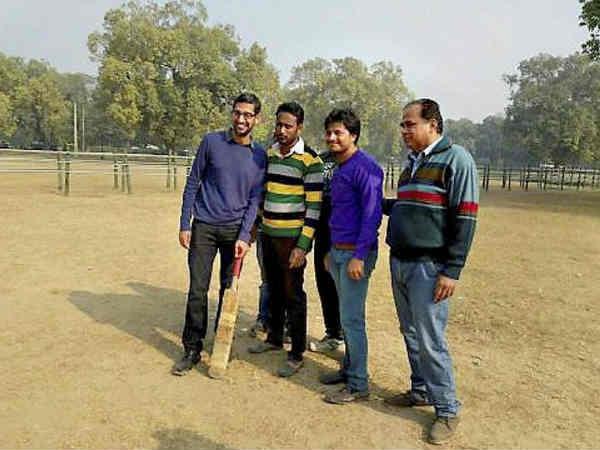क्रिकेटर बनना चाहते हैं गूगल के सीईओ सुंदर पिचई