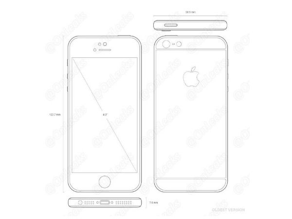 iPhone के 4 इंच वाले फोन की तस्वीर हुई लीक!
