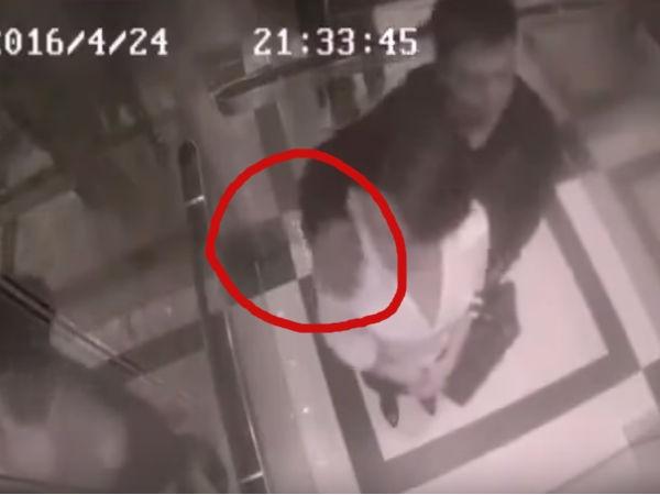 लड़के ने लिफ्ट में की बद्तमीजी तो देखिए लड़की ने क्या किया, विडियो वायरल