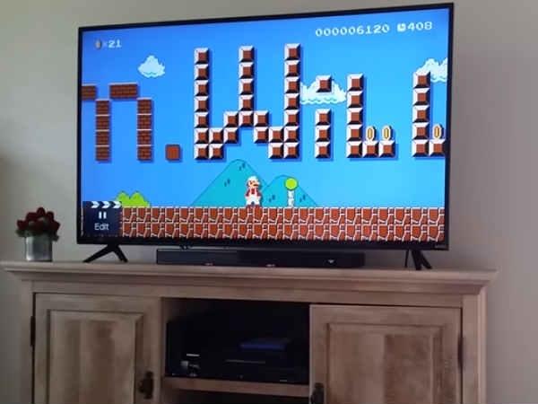 सुपर मारियो गेम का ये लेवल देख लड़की हैरान, शुरू कर दिया रोना!