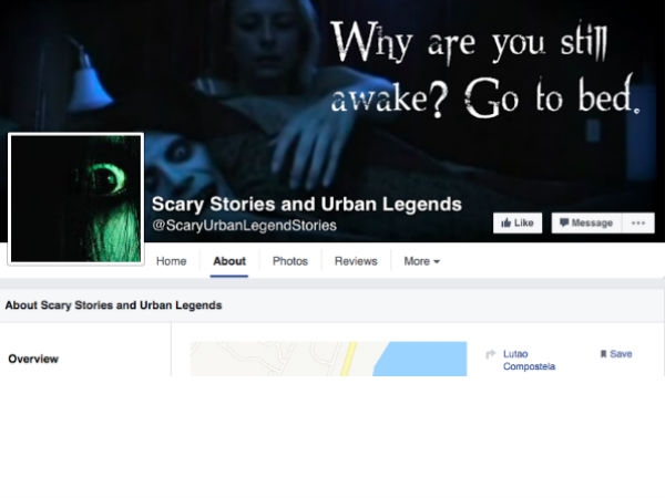 Scary Stories and Urban Legends