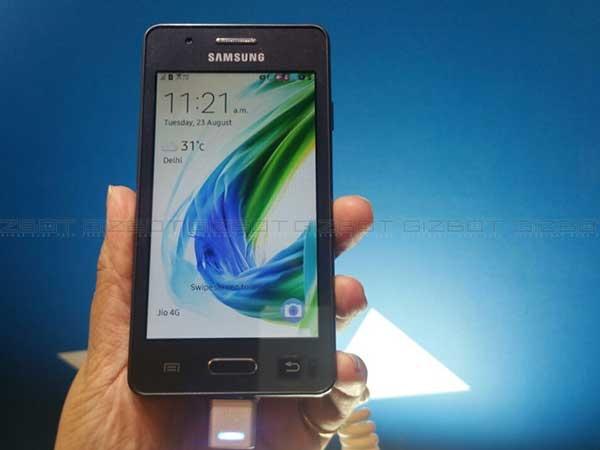 29 अगस्त से मिलेगा सैमसंग का सस्ता 4जी स्मार्टफोन जेड2